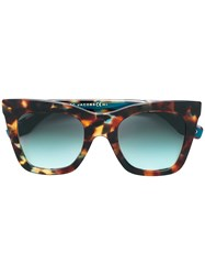 Marc Jacobs Eyewear Square Sunglasses Brown