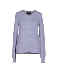 Le Mont St Michel Knitwear Cardigans Women Light Grey