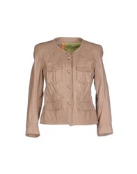 S.W.O.R.D. Coats And Jackets Jackets Women Skin Colour