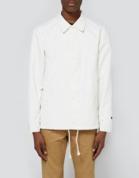 Vault By Vans Our Legacy Coaches Jacket In Marshmallow