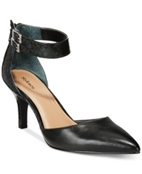 Style And Co. Wandah Two Piece Dress Pumps Only At Macy's Women's Shoes Black