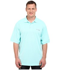 Columbia Perfect Cast Polo Extended Gulf Steam Men's Clothing Green