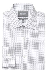 Men's Bonobos Slim Fit Wrinkle Free Dot Grid Dress Shirt