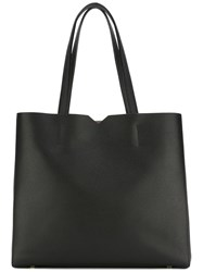 Valextra Shopper Tote Black