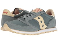 Saucony Jazz Low Pro Teal Green Men's Classic Shoes Multi