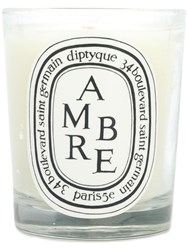 Diptyque Ambre 190 Candle White