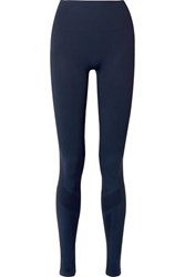 Lndr Eight Eight Paneled Stretch Leggings Navy