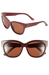 Electric Eyewear Women's Electric 'Danger Cat' 58Mm Retro Sunglasses Smokey Crimson Rose