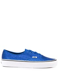 Vans Authentic Glitter Trainers Blue