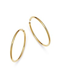 Moon And Meadow Endless Hoop Earrings In 14K Yellow Gold 100 Exclusive