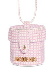 Jacquemus Le Vanity Leather Shoulder Bag Pink