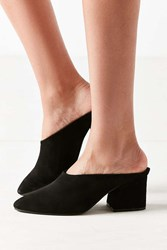 Urban Outfitters Marta Suede Mule Black