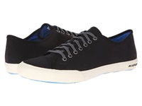Seavees 08 61 Army Issue Low Nylon Black Men's Lace Up Casual Shoes