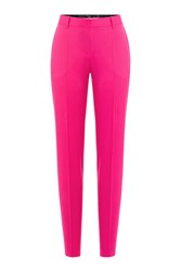 Barbara Bui Tailored Linen Trousers Pink