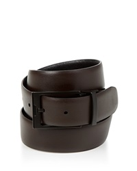 The Men's Store At Bloomingdale's Reversible Leather Belt Black Black