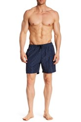 Theory Cosmos Kiln Swim Trunk Blue