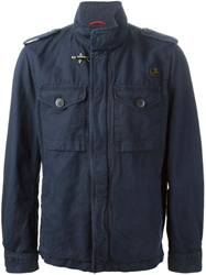 Fay Military Jacket Blue