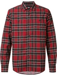 Stussy Flannel Shirt Red