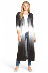 Vince Camuto Dip Dye Duster Cardigan New Ivory