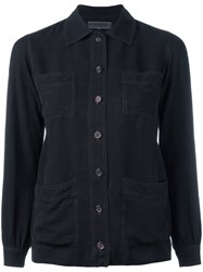Yves Saint Laurent Vintage Loose Fit Shirt Black