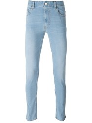 Love Moschino Stretch Skinny Jeans Blue