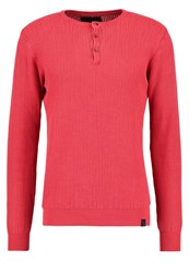 Indicode Jeans Esteban Jumper Vermillon Red