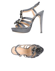 Cafe'noir Cafenoir Sandals Grey