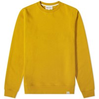 Norse Projects Vagn Classic Crew Sweat Yellow