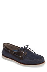 Sperry Men's 'Gold Cup Authentic Original' Boat Shoe Blue Grey