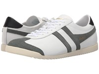 Gola Bullet Leather White Grey Men's Shoes