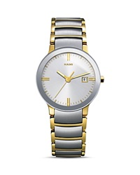 Rado Centrix Quartz Watch 28Mm Gray Gold