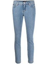 Dolce And Gabbana Skinny Cropped Jeans 60