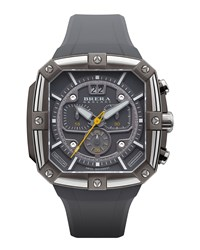 46Mm Supersportivo Square Watch Dark Gray Brera