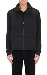 James Perse Men's Quilted Down Vest Black