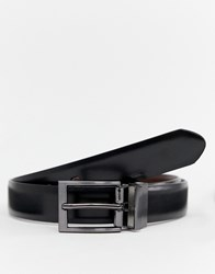 Peter Werth Belt With Gun Metal Buckle Brown