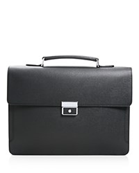 Longchamp Racing Handle Briefcase Black
