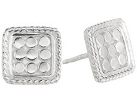 Anna Beck Square Cushion Post Earrings Sterling Silver Earring
