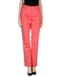 Trussardi Jeans Trousers Casual Trousers Women Red