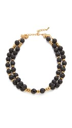 Hipchik Couture Coree Choker Necklace Black Multi