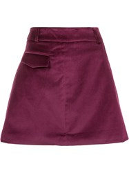 Egrey A Line Skirt Pink And Purple