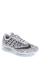 Men's Nike 'Air Max 2016' Print Running Shoe Pure Platinum Black White