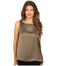 Atm Anthony Thomas Melillo Boat Neck Tank Top Army
