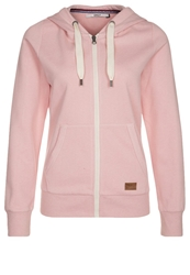 Only Finley Tracksuit Top Silver Pink Rose