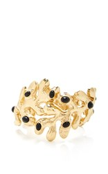 Oscar De La Renta Jet Sea Tangle Cuff Black