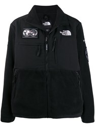 The North Face Logo Patch Windbreaker Black
