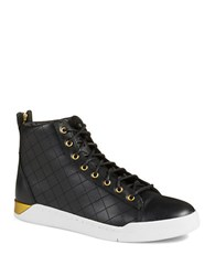 Diesel Diamond Hi Top Sneakers Black