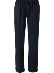Stephan Schneider 'Image' Trousers Blue