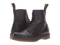 Dr. Martens Pascal 8 Eye Boot Gothic Purple Antique Temperley Lace Up Boots Brown