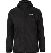 Patagonia Houdini Ripstop Shell Hooded Jacket Black