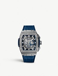 Hublot 601.Nx.7170.Lr Spirit Of Big Bang Titanium And Alligator Leather Watch
